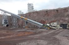 New Stockpile Conveyor for Blackhills Quarry