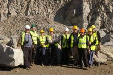 Aberdeen Geology Society Visit Bluehill Quarry
