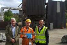 Ally Grant retires from Bluehill Quarry after more than 20 years
