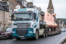 Leiths deliver Spirit Stills to Macallan's Distillery