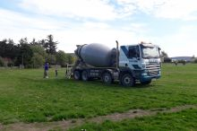 Parkmore supplies Concrete to Dufftown Community Association
