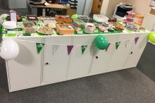 Macmillan Bake Sale – Thursday, 3 November 2016