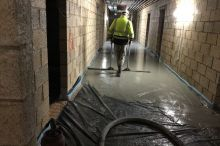 Leiths launch RIGAfloor Liquid Screed in Aberdeen