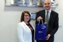 Nichola Greig wins REED Recruitment Competition