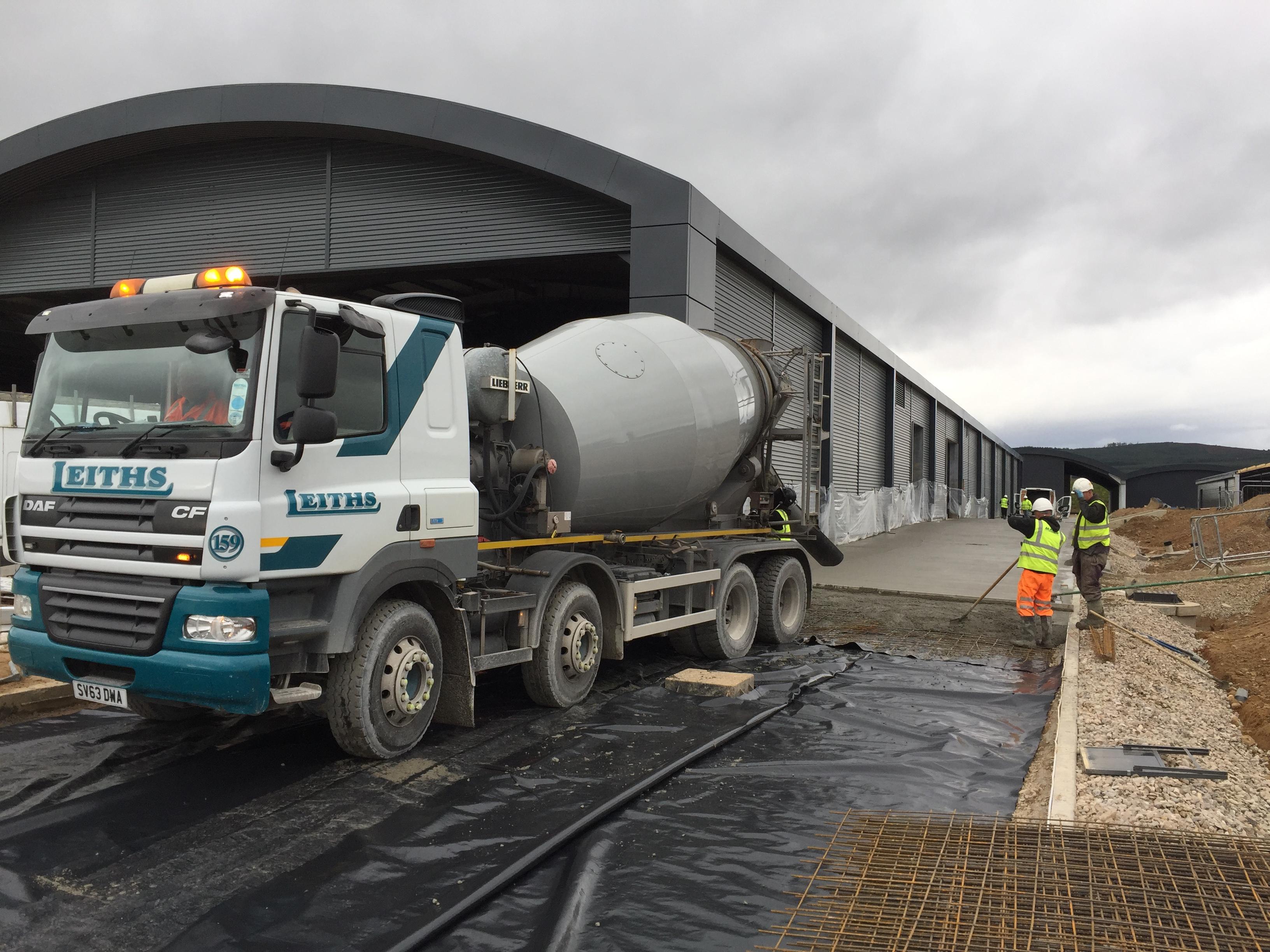 Leiths - Ready Mix Concrete